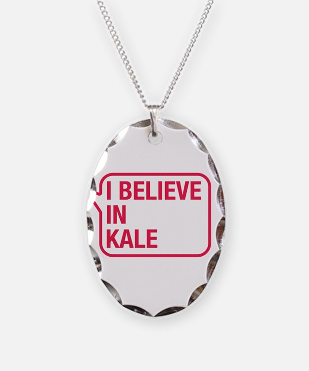 I Believe In Kale Necklace