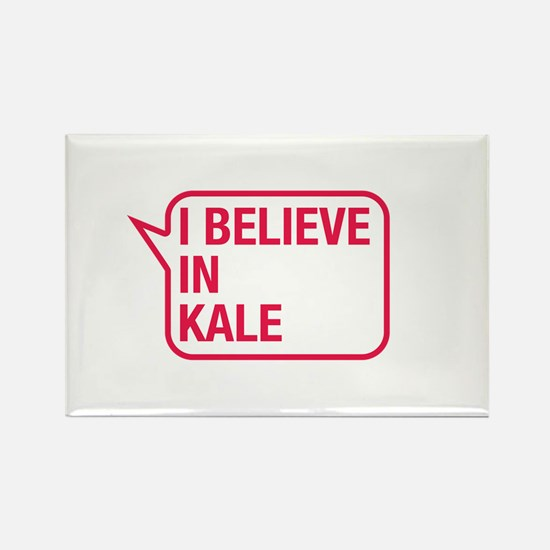 I Believe In Kale Rectangle Magnet