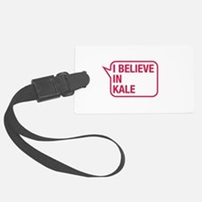 I Believe In Kale Luggage Tag