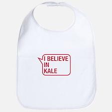 I Believe In Kale Bib