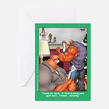 Gym Sock - Xmas Cards (Pk of 10)