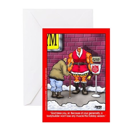 Muscle Fund - Xmas Cards (Pk of 10)