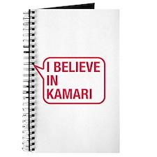 I Believe In Kamari Journal