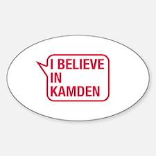 I Believe In Kamden Decal