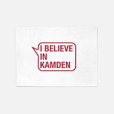 I Believe In Kamden 5'x7'Area Rug