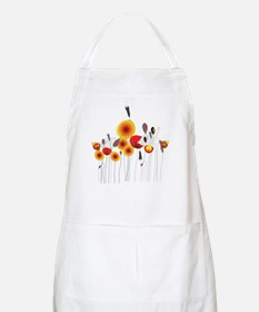 Contemporary California Poppies Apron