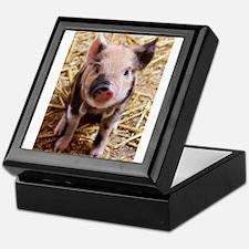 This Little Piggy Keepsake Box