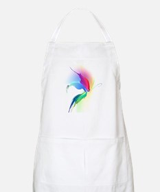 Abstract Butterfly Paint Splatter Apron