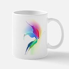 Abstract Butterfly Paint Splatter Mug