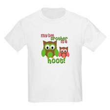 My Big Brother Is A Hoot T-Shirt