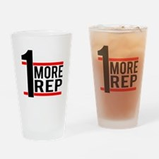 1 More Rep Drinking Glass