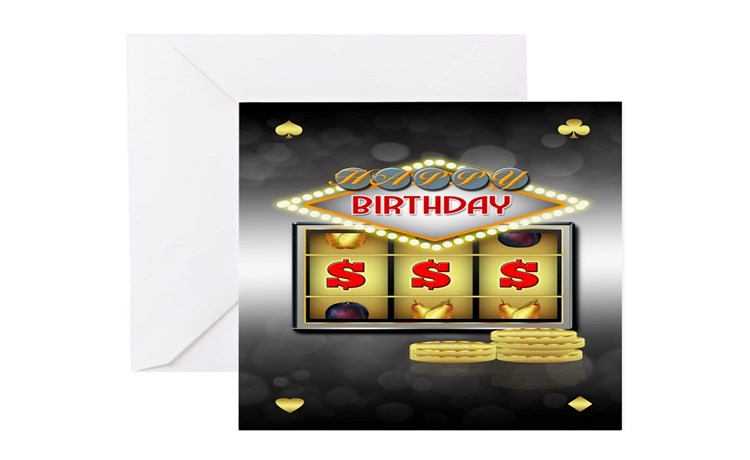 Slot Machine Greeting Cards Card Ideas, Sayings, Designs  Templates