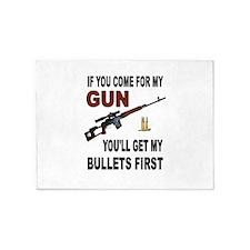 GUN 5'x7'Area Rug