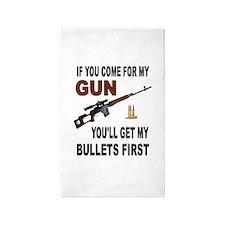 GUN 3'x5' Area Rug