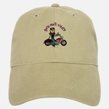Light Biker Baseball Baseball Cap