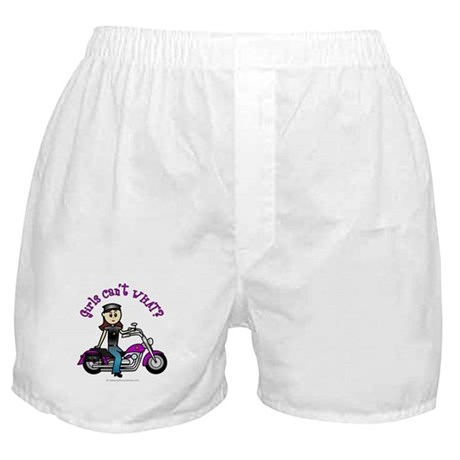 Light Biker Boxer Shorts