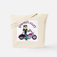 Light Biker Tote Bag