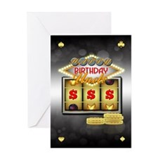 Uncle Birthday Greeting Card With Slots And Coins