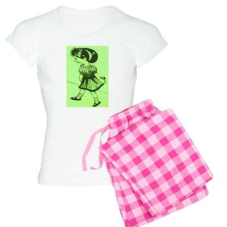 Cartoon Gal Pajamas