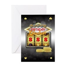 Godson Birthday Greeting Card With Slots And Coins