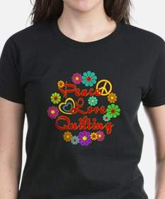 Peace Love Quilting Tee