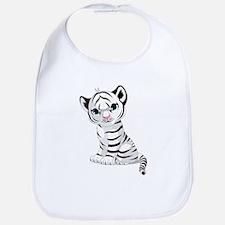 Baby White Tiger Bib