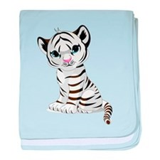 Baby White Tiger baby blanket