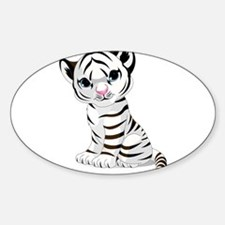 Baby White Tiger Decal