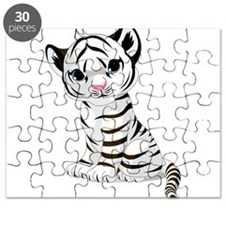 Baby White Tiger Puzzle