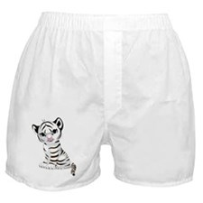 Baby White Tiger Boxer Shorts