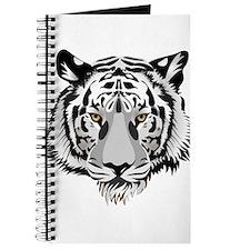 White Tiger Face Journal