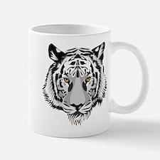White Tiger Face Mug