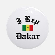 I rep Dakar Ornament (Round)