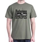 Refs Earn Their Stripes Olive Drab T-Shirt