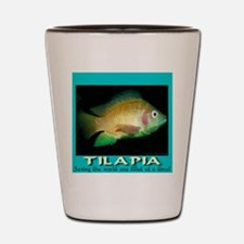 Tilapia Shot Glass