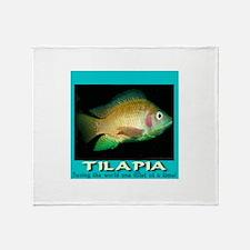 Tilapia Throw Blanket