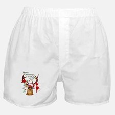 Smoking Redneck Christmas Boxer Shorts