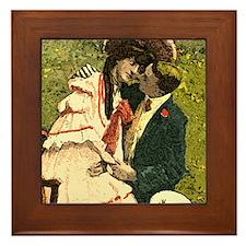Romace Love Framed Tile