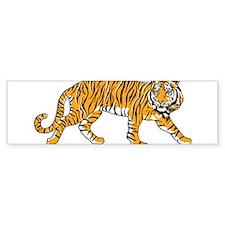 Classic Tiger Bumper Bumper Sticker