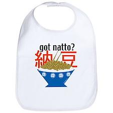 """""""Got natto?"""" Bib"""