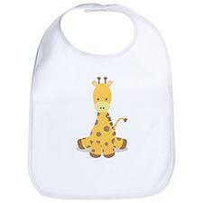 Baby Cartoon Giraffe Bib