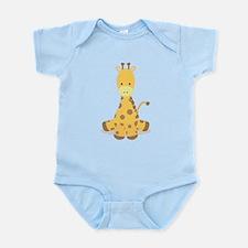 Baby Cartoon Giraffe Body Suit