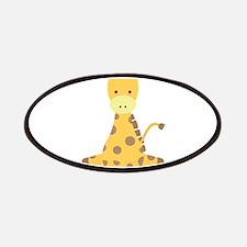 Baby Cartoon Giraffe Patches