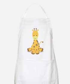 Baby Cartoon Giraffe Apron