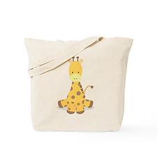 Baby Cartoon Giraffe Tote Bag