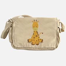 Baby Cartoon Giraffe Messenger Bag