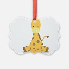 Baby Cartoon Giraffe Ornament