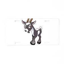 Baby Goat Aluminum License Plate