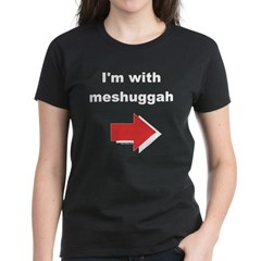 I'm with meshuggah Women's Black T-Shirt