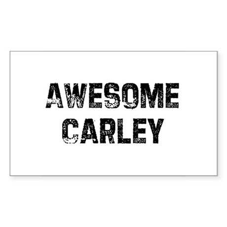 Awesome Carley Rectangle Sticker